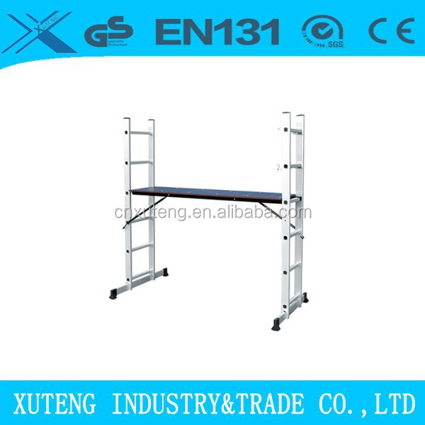 ladder Suspended scaffolding system with EN131 BSCI