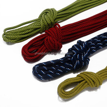 vibrant colors and different lengths Waxed Cotton Dress Round Shoe Lace