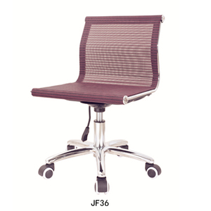 Modern office furniture Office chairs no arms Powerful conference chair on sale JF36
