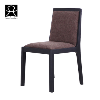 Hanm Hochwertige Asche Holz Schwarz Farbe Moderne Esszimmer Stuhl ...