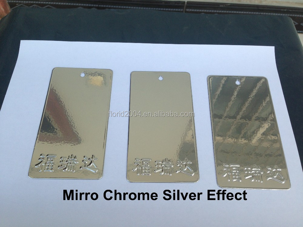 spray mirror chrome silver effect powder <strong>coating</strong>