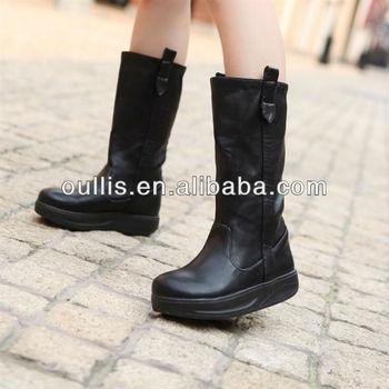 7b6c6166 Zapatos De Guangdong Bajo Botas Sin Tacón Elegir Para Mujer Xw360-1 - Buy  Zapatos De Guangdong,Bajo Botas Sin Tacón,Elija Para Mujer Product on ...