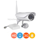 Full 720P HD popular waterproof ip camera high quality p2p security wireless sim card 3g cam