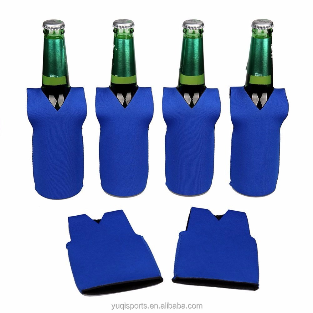 Collapsible Neoprene Vest Beer Bottle Cooler