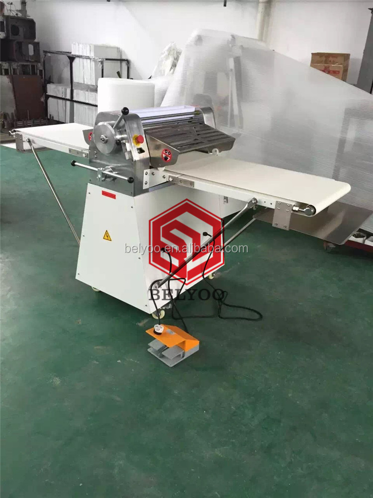 Adjustable thickness commercial bread shortening machine for sale