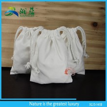 small cotton fabric drawstring bags wholesale