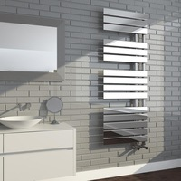 High quality OEM service SUN-D5 Chrome towel rail Designer towel radiator Central heating radiator