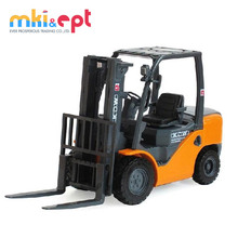 China wholesale 1 20 scale die cast mini toy forklift truck for sale