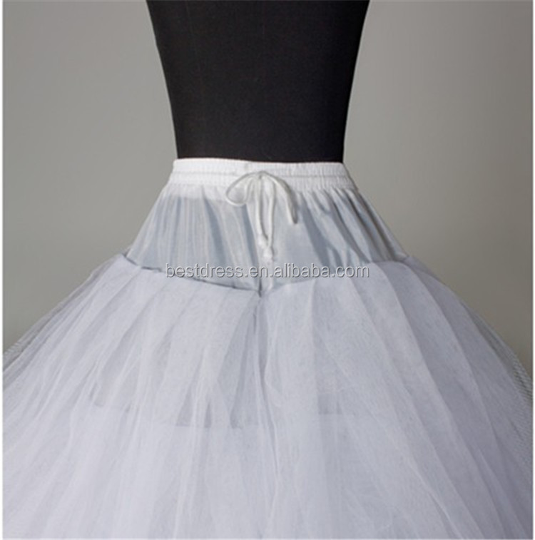 9fb0bdf9a4d8 Long 8 Layers Hoopless Ball Gown Petticoats, View 8 Layers Hoopless ...