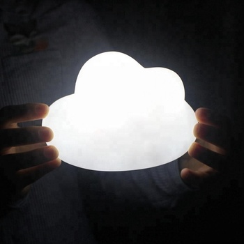 Cute PVC Vinyl Night Light Cloud Shape for Children,Chic Lovely a little Cloud LED Night Lamp for Baby Bedroom