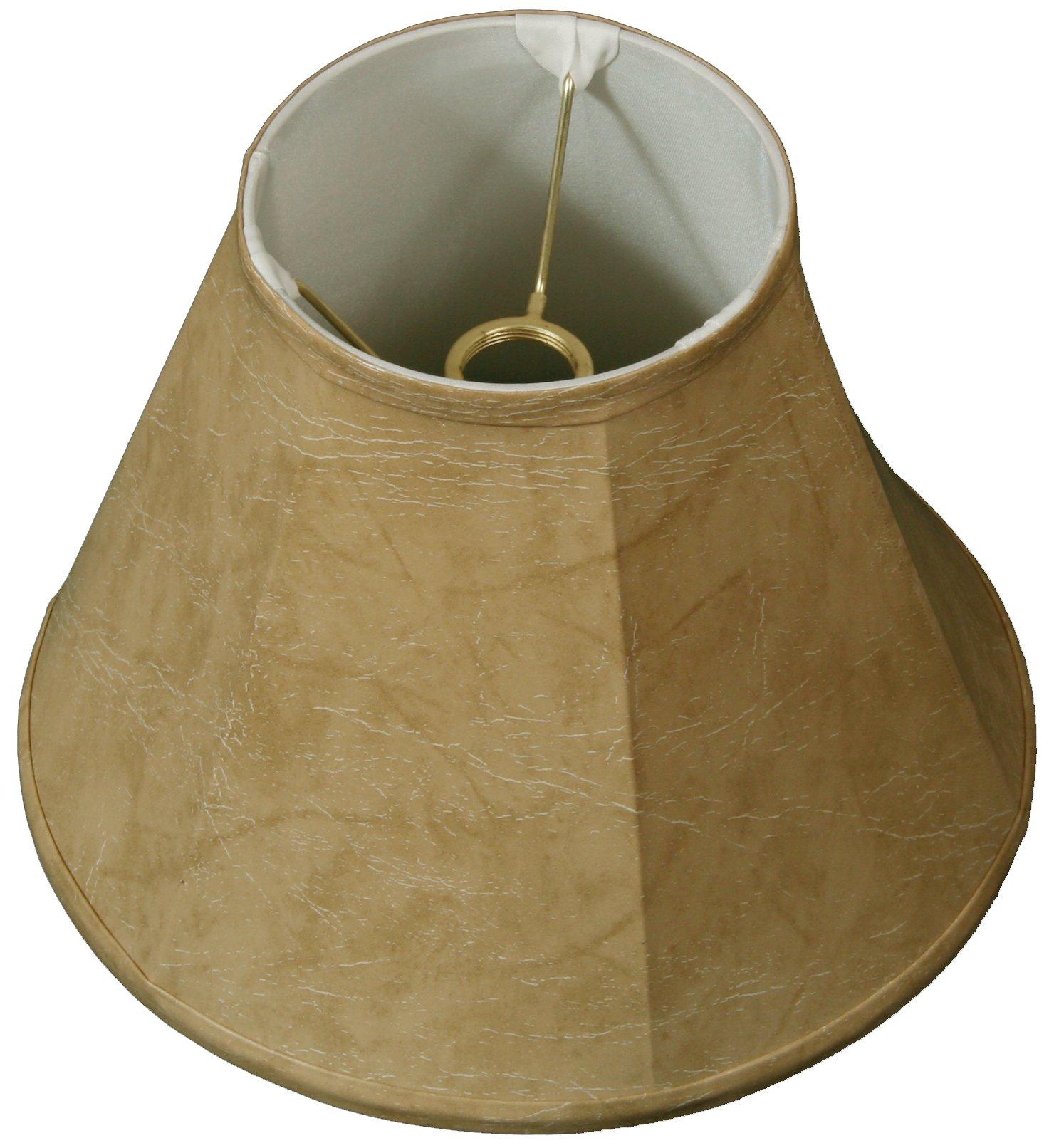 Royal Designs Deep Empire Lamp Shade, Mouton, 5 x 10 x 8, UNO Floor Lamp