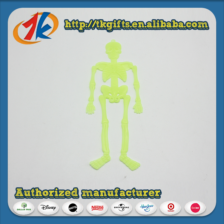 Funny Glow In Dark Halloween Skeleton Toy