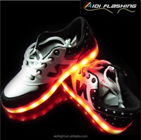 China factory APP controlled led wholesale shoe manufacturer man sport shoe