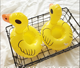 Fun Inflatable Pool Float duck float Pool Toy Drink Holder