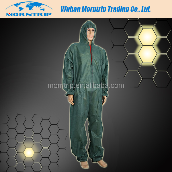Kleenguard A60 Bloodborne Pathogen & Chemical Protective Coverall Suit w/ Hood & Boots