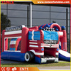 giant inflatable fire truck bouncer/ inflatable fire department bouncy castle/ inflatable combo jumper for kids