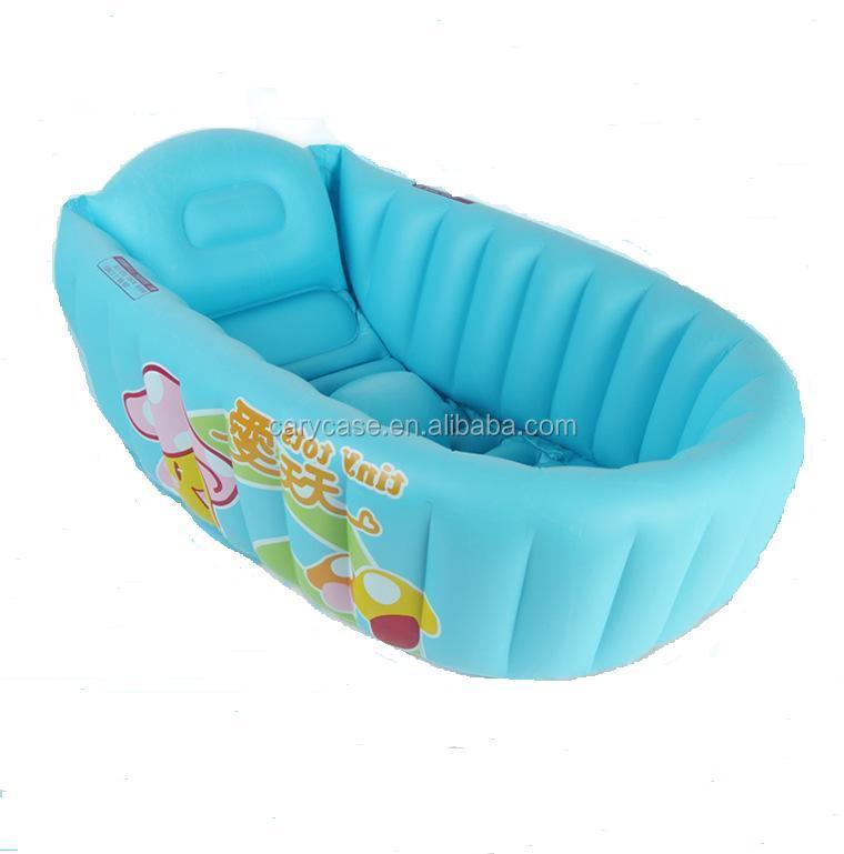 Inflatable Bathtub Newborn Baby Bath Tub Portable Children \'s Bath ...