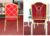 Hot sell and popular iron used stacking chair for banquet