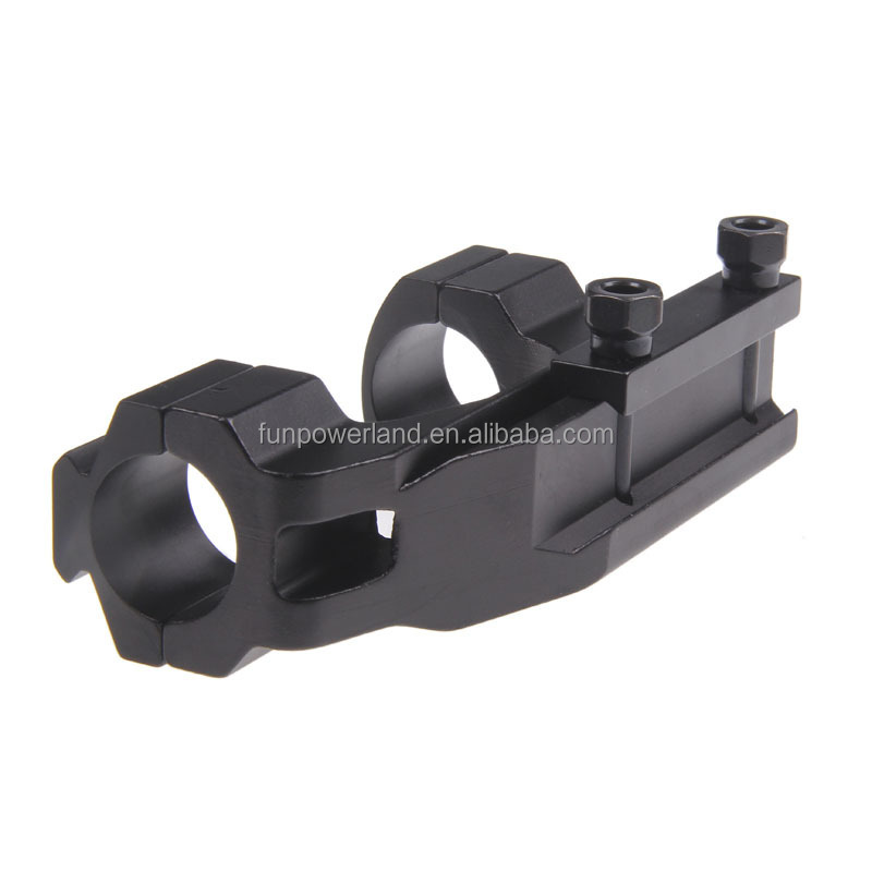 "Funpowwerland Inter change able Cantilever Scope Mount 1"" 25.4mm Double Ring"