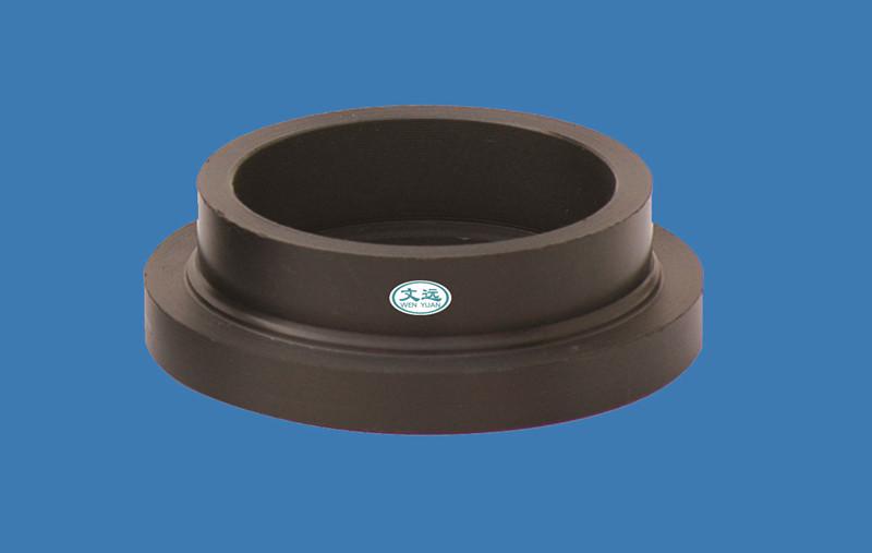 Accesorios de tubería hdpe stub brida uniones tuberías