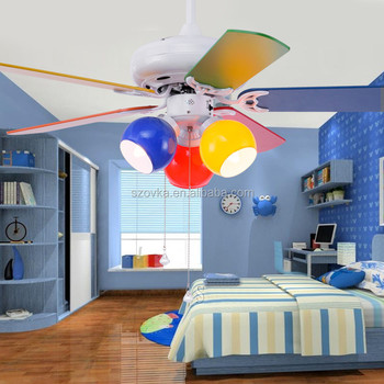 Children\'s Bedroom Ceiling Fan Light - Buy Children\'s Bedroom Ceiling Fan  With Lights,Colorful Ceiling Fan With Lights,Cute Ceiling Fan With Lights  ...
