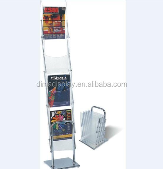 Portable Brochure Stand View Stands Dm Product Details From Suzhou Display Master Exhibition Equipment Factory On Alibaba