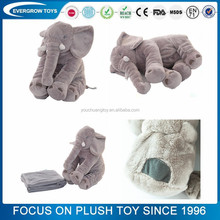 elephant pillow plush and stuffed elephant toys with big ears