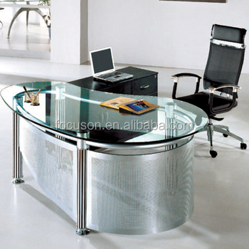 Fks-hd-ed022 Modern Glass Top Office Desk - Buy Glass Top Executive  Desk,Office Desk,Modern Glass Executive Desk Product on Alibaba.com