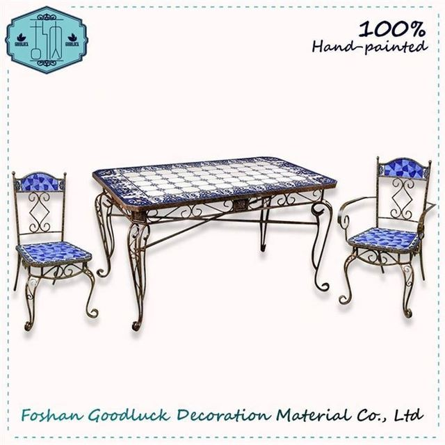 Hand Crafted Home Indoor Table Set Simple Moroccan Living Room Furniture