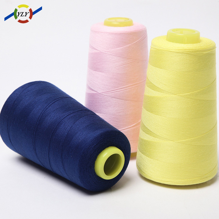 Wholesale alibaba hubei textile jeans coat bag sewing thread 40/2 20/3
