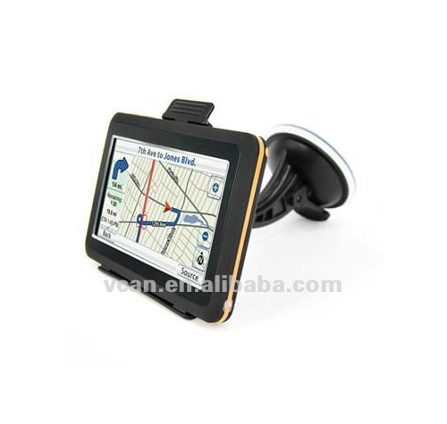 VCAN0106 Button and touch-screen operation 4.3 inch TFT-LCD screen Car GPS Navigation