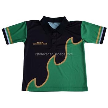 f4cf5830b Custom Dye Sublimation Polyester Polo Shirt No Minimum For Kids ...