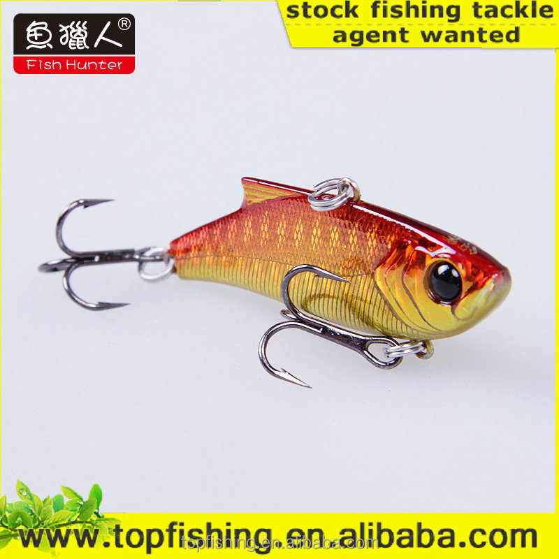 VIB high quality hard fishing lures wholesale lures golden red sinking VIB