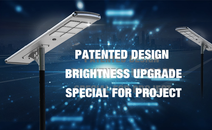 Integrated 80w solar led street light price list