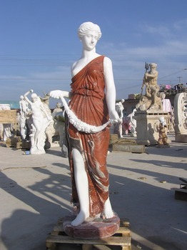 Large Stone Garden Statues Lady Statue VAS 089