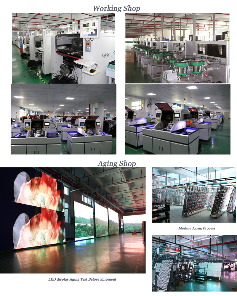 HD Smd Led Display Indoor /P4 Indoor Full Color 256*128 mm Module/Commercial Advertising LED Display