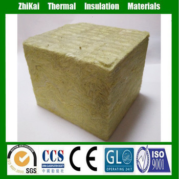 100mm Building Materials Acoustic Panel Rock Wool Insulation Board ...