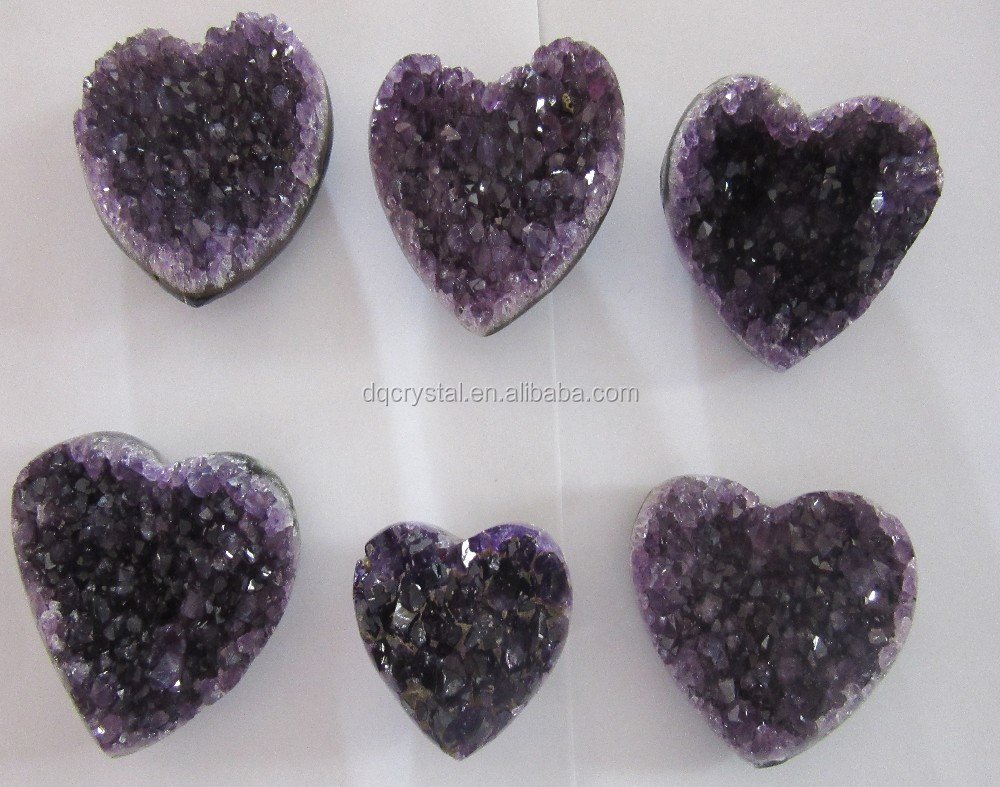 Natural puffy heart for healing crystal,rose quartz puffy heart,puffy heart