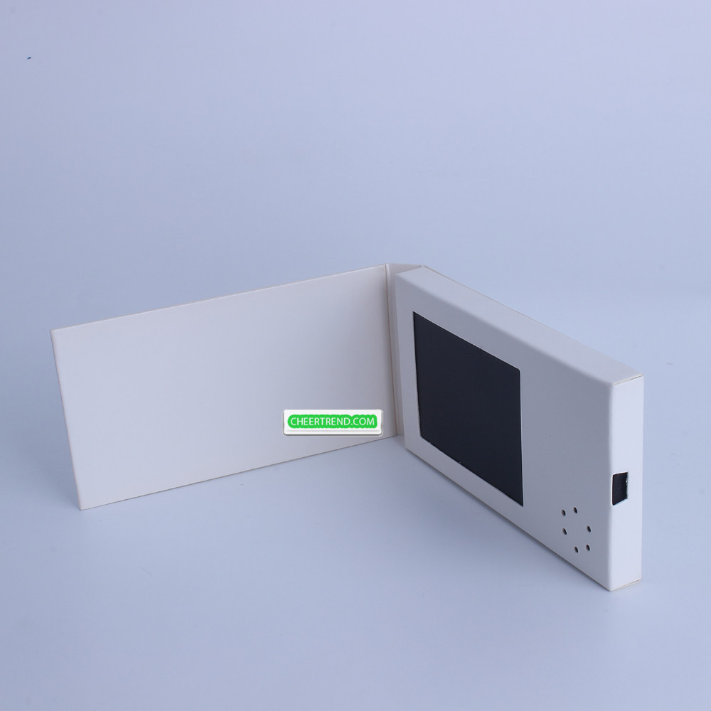 Promotional Tft Lcd Screen 24 Inch Lcd Video Greeting Card Video
