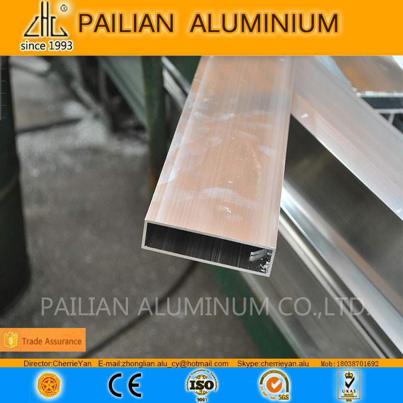 6063 t5 aluminum square tube sizes /aluminium extrusion suppliers hollow tubes /tube4 extruded aluminum square tubing