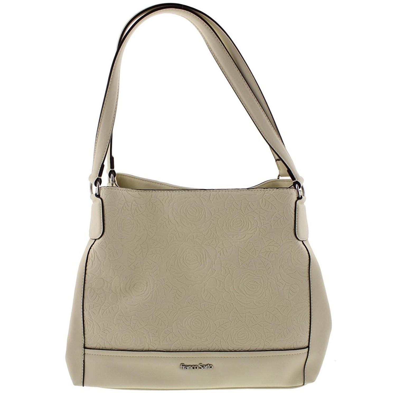 8a9e113de4b8 Get Quotations · Franco Sarto Womens Alyse Embossed Faux Leather Shopper  Handbag