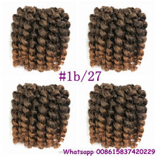 STOCK 8-10inch Spring freetress wand curl hair extensions for crochet twist braiding hair