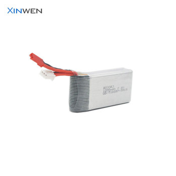 XW 803063 2S1P 15C 1200mAh 7.4v rc helicopter battery