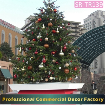christmas tree decoration artificial giant led lighted christmas xmas tree outdoor types of decorative