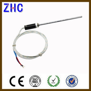 factory price E type K type Cu50 probe thermocouple PT100 temperature sensors