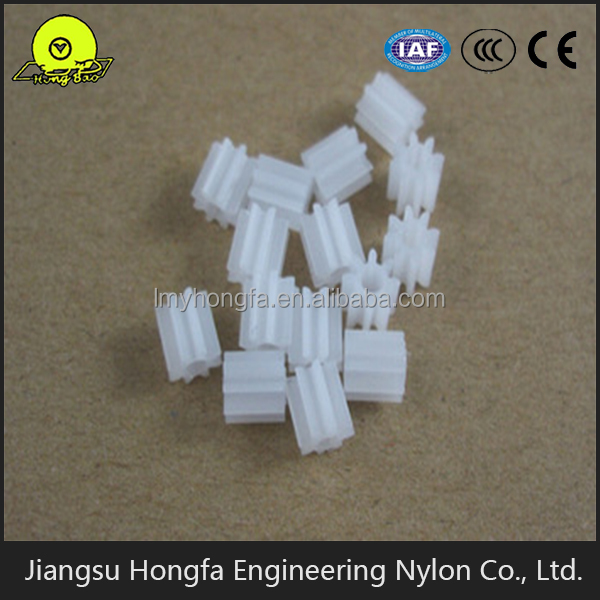 Bevel Shaft Plastic Nylon Gear for DIY Toy Accessories