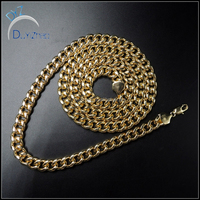 factory custom high quality hot sale iced out men's hip hop new gold chain design for men