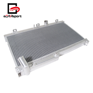 eCARsport Aluminum Car 2 Row Cooling Radiator For Mazda Rx7 Rx-7 Fd3S 93-96