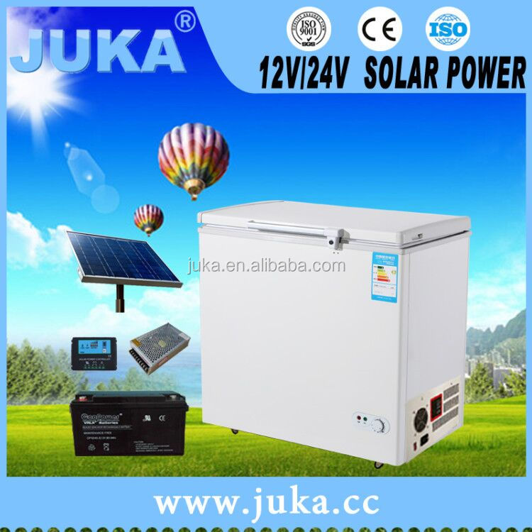 CE juka 12v battery ocean freezer 208 liters