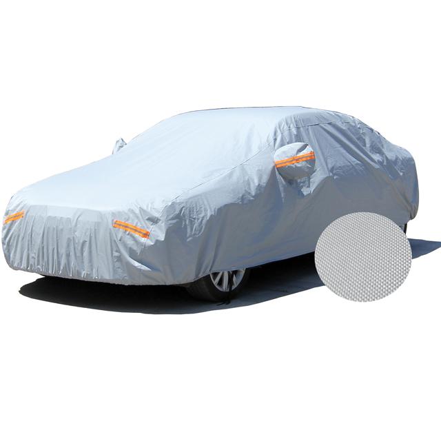 Fabriek goedkope prijs auto full body cover covers garage vouwen winter